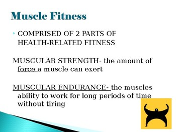 Muscle Strength Powerpoint