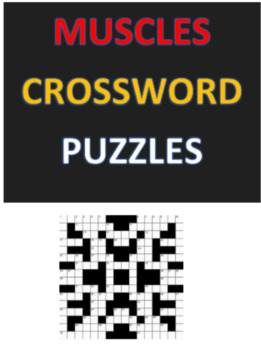 Muscles Crossword Puzzles