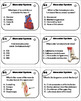 Muscles Task Cards/ Muscular System Task Cards  (Human Body Systems Task Cards)