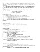 Muscles and Muscle Physiology - Quick Review Notes and Handout