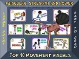 Muscular Strength and Power- Top 10 Movement Visuals- Simp