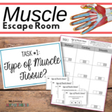 Muscular System Activity.  Escape Room.