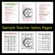 Muscular System Bundle PowerPoint and Notes - Anatomy & Physiology Power Point