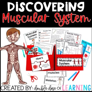 Human Body: Muscular System Research Unit with PowerPoint