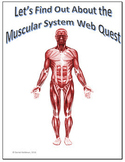 Muscular System Science Webquest for Google Apps - Internet Activity