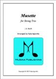 Musette - Easy arrangement for String Trio