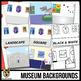 Museum Background Scenes Clip Art/Digital Paper Backgrounds