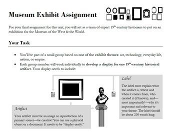 Museum Exhibit Assignment