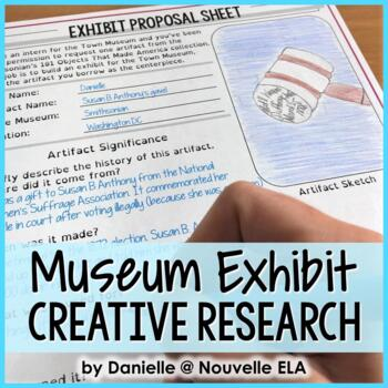 Museum Exhibit Proposal - Creative Research Project