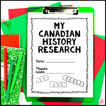 Museum of Canadian History- Project Based Learning