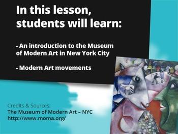 Museum of Modern Art Lesson