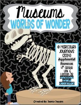 Museums: Worlds of Wonder (Journeys 4th Gr. - Supplemental Materials)