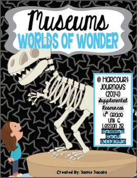 Museums: Worlds of Wonder (Journeys 4th Gr. - Supplemental