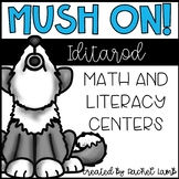 Mush On! Sled Dog Race Winter Math and ELA centers