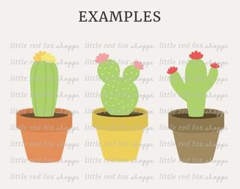 Cactus Kit Clipart; Nature, Plant