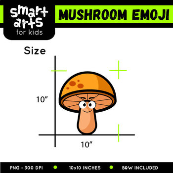 Mushroom Emoji Clip Art