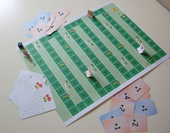 Mushroom picking : a game to learn counting