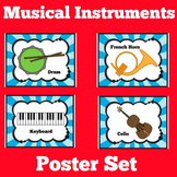 Music Posters   Elementary Music   Bulletin Board Set   Cl