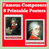Music Classroom Posters | Music Classroom Decor | Music Bulletin Boards