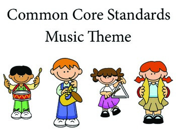 Music 3rd grade English Common core standards posters