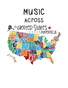 Music Across America - 1 per page Color