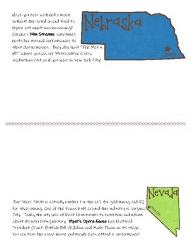 Music Across America - 2 per page Color