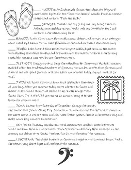 Music Across America - Christmas Break Practice Edition