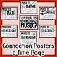 Music Across the Curriculum Posters- School Colors: Red