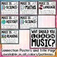 Music Across the Curriculum Posters- Tribal Watercolor