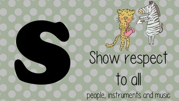 Music Acrostic Rules