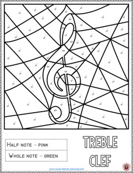 Music Coloring Pages: Music Activities for Music in Our Schools month