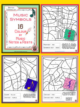Music Activities: 16 Music Colouring Pages