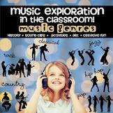 Music Unit Explore by Genre