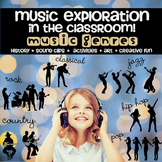 Music Unit Explore by Genre