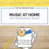 Distance Learning Music Activities for Home