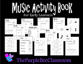 Music Activity Book For Early Learners