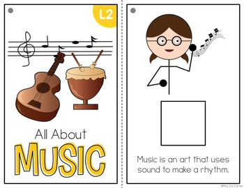 Music Adapted Books ( Level 1 and Level 2 )