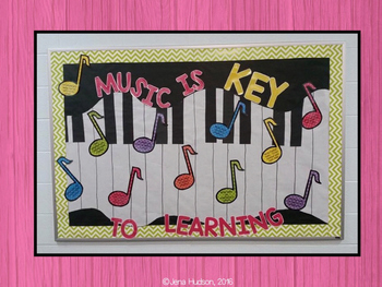 Music Advocacy Notes Bulletin Board Kit