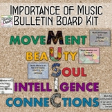 Music Advocacy Poster Set: The Importance of Music