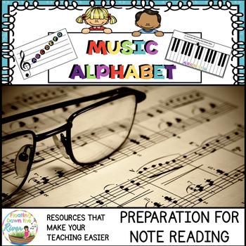 Music Alphabet Activities Bundle