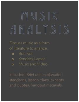 Music Analysis Unit
