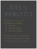 Music Analysis Unit