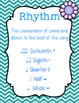 Music Anchor Charts {Garden of Music}