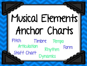 Music Anchor Charts: Musical Elements