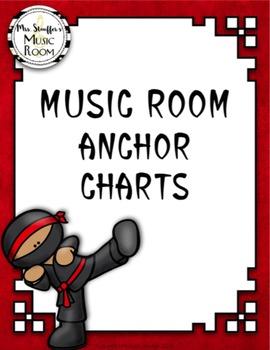 Music Anchor Charts {Ninja}