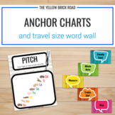 Music Anchor Charts & Travel Size Word Wall