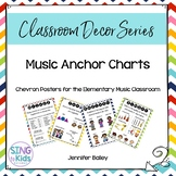 Music Anchor Charts for the MLT Inspired Classroom: Chevron