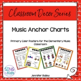 Music Anchor Charts for the MLT Inspired Classroom: Primary Colors