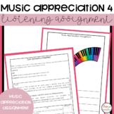 Music Appreciation 4 Comparison Assignment