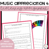 Music Appreciation 4 Comparison Project